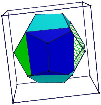 正十二面体(dodecahedron)